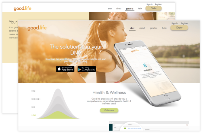 Customize Fitness Nutrition at Population Health Platform